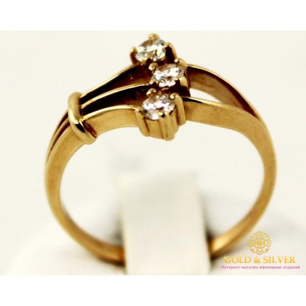 Золотое кольцо 585 проба. Женское Кольцо из красного золота. 2,91 грамма. kv218i , Gold & Silver Gold & Silver, Украина