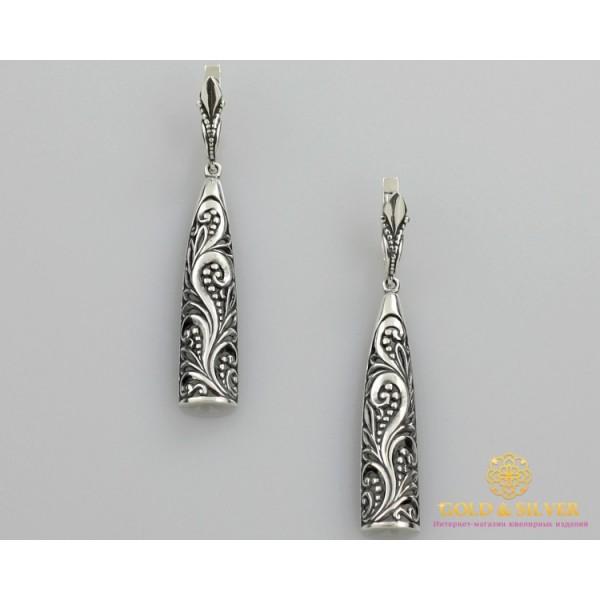 Серебряные Серьги 925 проба. Серьги женские ветка Калины 2161 , Gold & Silver Gold & Silver, Украина