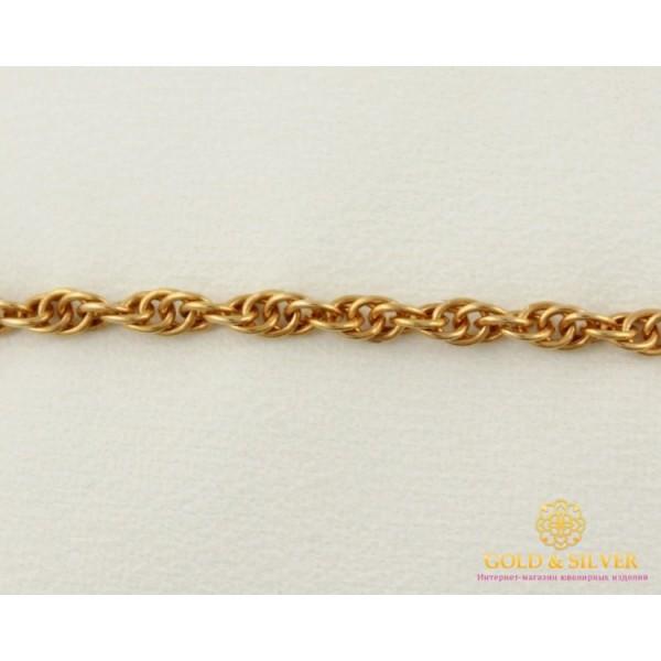 Золотой Браслет 585 проба. Браслет с красного золота, плетение Корда 8291110 , Gold &amp Silver Gold & Silver, Украина