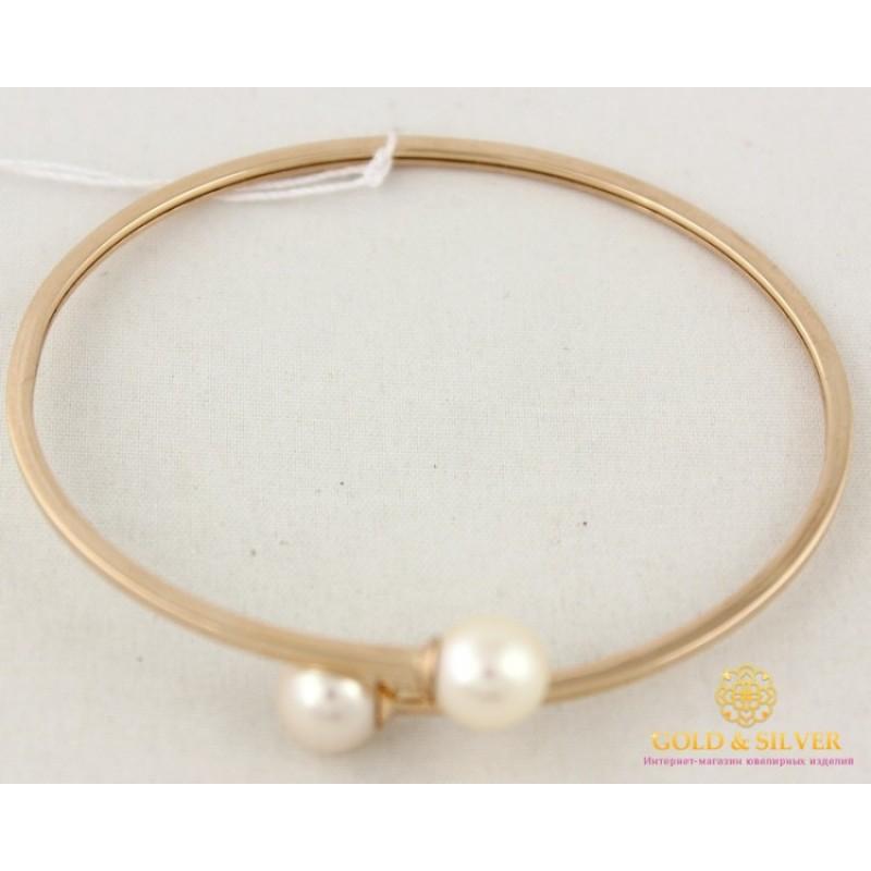 Золотой браслет женский с жемчугом