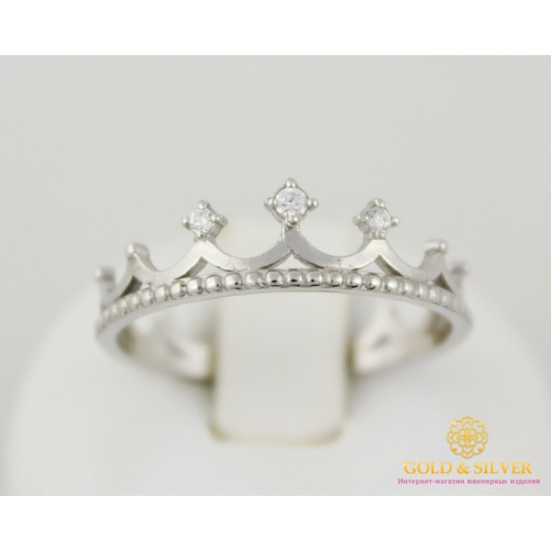 Купить Серебряное кольцо 925 проба. Кольцо женское корона малая ... 4f0531c94b73f