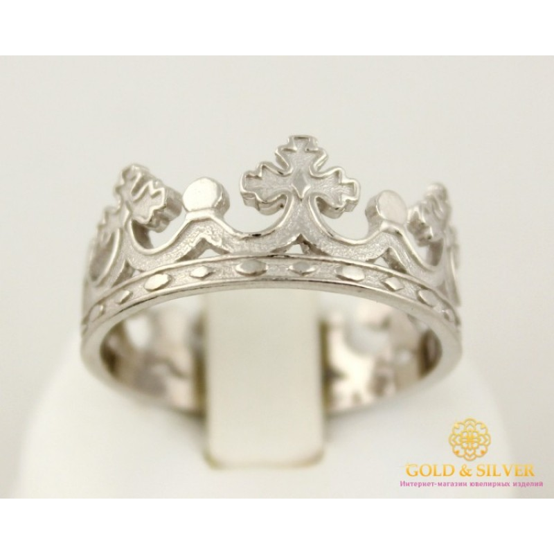 Купить Серебряное Кольцо 925 проба. Кольцо Корона без камней 1886 1 ... 1b5ba9d7f80da