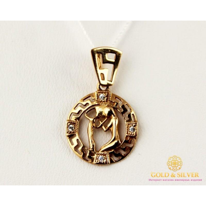 золотая цепочка с знаком зодиака
