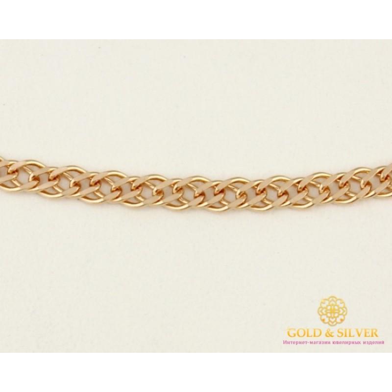 плетение цепочки двойной ромб фото