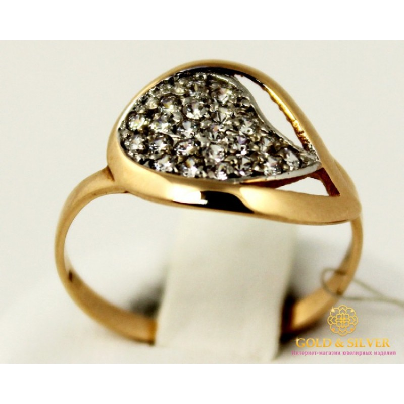 fa1629ba06f6 Купить Золотое кольцо 585 проба. Женское Кольцо 1,98 грамма. 320718 ...