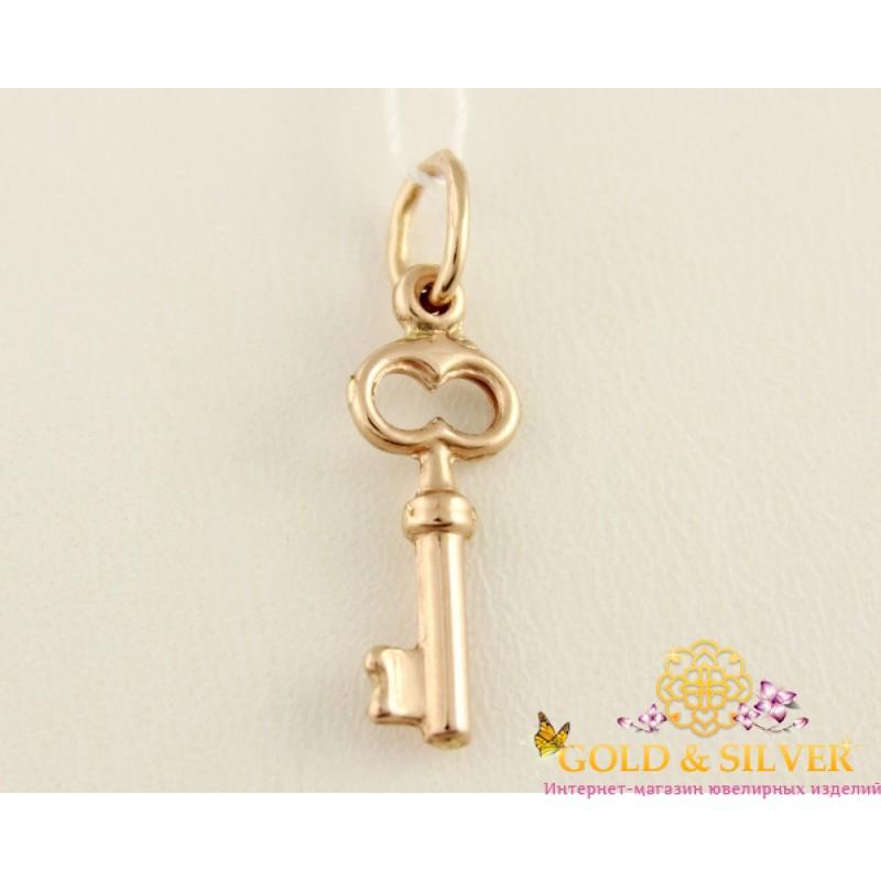 2489a65a64eaf1 Купить Золотой кулон. Подвеска золотой ключик. 110423! Лучшая цена в ...