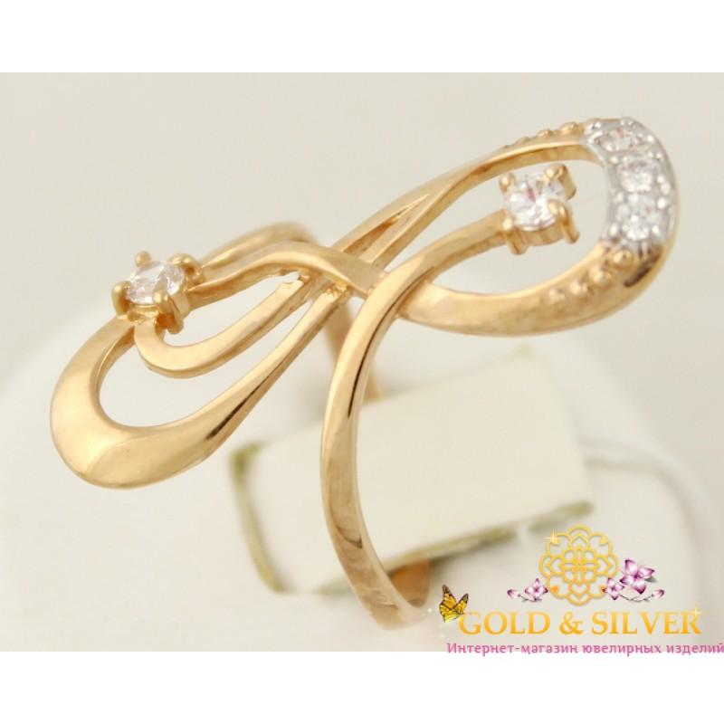 6d17350130b7 Золотое кольцо 585 проба. Женское кольцо с красного золота, 16 размер, 2,31  грамма. 320133